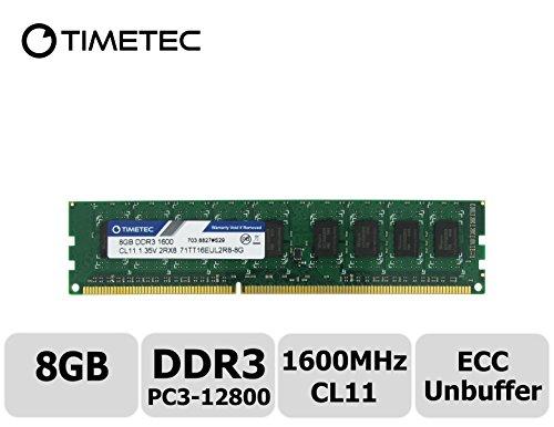 32GB DDR3 PC3-10600E ECC Unbuffered Memory RAM HP ProLiant DL320E G8 V2 4x8GB